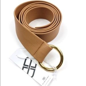 B-Low the Belt Mia Belt Tan NWOT